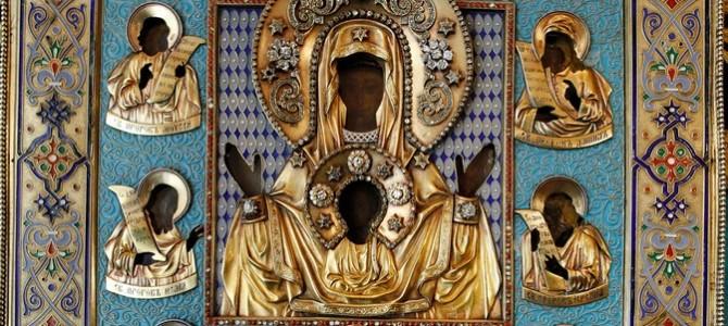 Икона Божией Матери «Знамение» Курская-Коренная