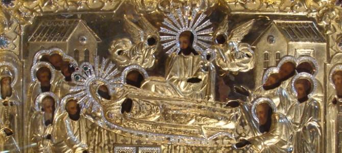 Икона Божией Матери «Успение» Киево-Печерская