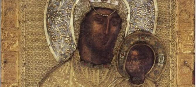 Икона Божией Матери «Ктиторская» (Алтарница) Ватопедская