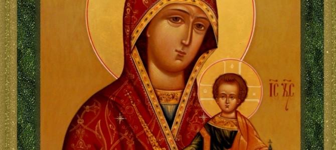 Икона Божией Матери «Суморинская-Тотемская»