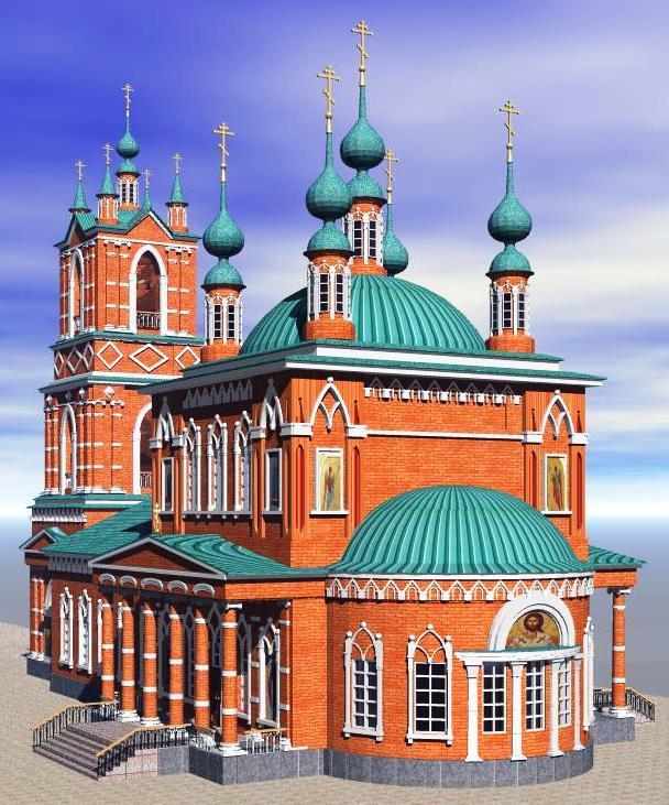 Эскизный проект восстановления Троицкого храма