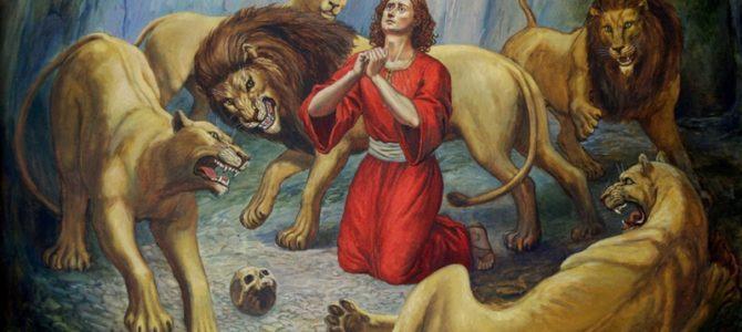 Пророк Даниил и три отрока Анания, Азария и Мисаил
